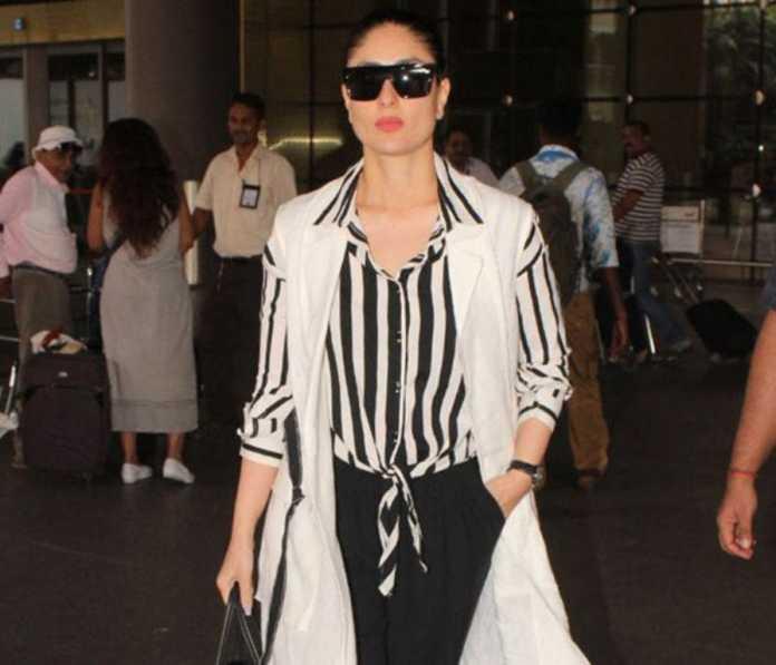 Kareena Kapoor Khan પુત્ર તૈમૂર સાથે એરપોર્ટ પર આવી નજર