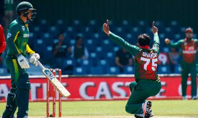 South Africa એ પ્રથમ ટી-૨૦ મેચમાં બાંગ્લાદેશને ૨૦ રનથી હરાવ્યું