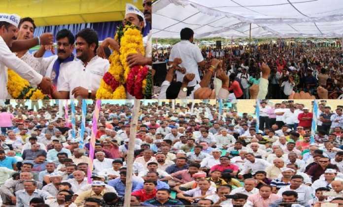 Gujarat માં ભાજપ ફરી ભીંસમાં, હાર્દિક પટેલની સભામાં ખેડૂતો અને યુવાનો ઉમટ્યા