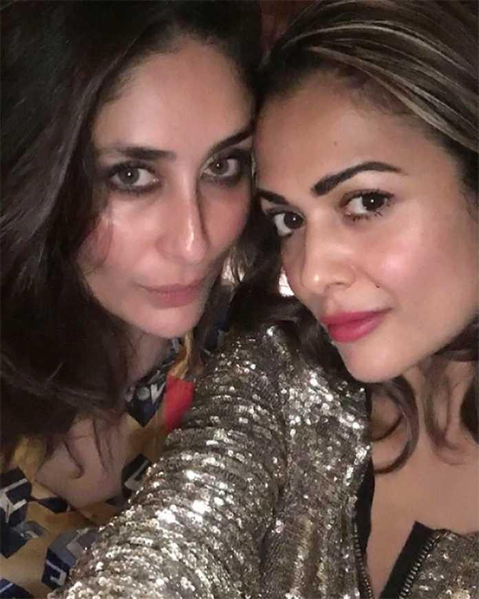Kareena Kapoor Khan ગર્લ્સગેંગ સાથે પાર્ટી કરતા આવી નજર
