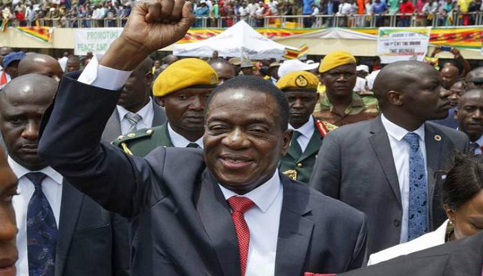 ઝિમ્બાબ્વેમાં રાજકીય ડ્રામાનો અંત, નાંગગાગવા બન્યાં નવા રાષ્ટ્રપતિ
