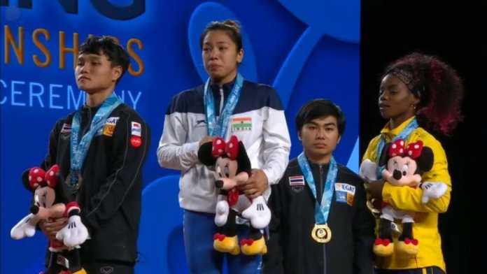 વેઈટ લિફટીંગ ચેમ્પિયનશીપમાં ગોલ્ડ મેડલ જીતી Mirabai Chanu એ રચ્યો નવો ઈતિહાસ