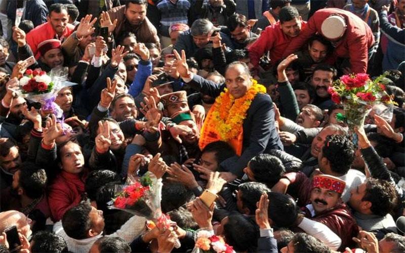 હિમાચલમાં ભાજપની સરકાર, CM જયરામ ઠાકુરની ઐતિહાસિક રિજ મેદાનમાં શપથવિધિ