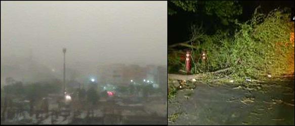 દિલ્હી-એનસીઆર સહિત ઉત્તર ભારતમાં આંધી-તોફાને કહેર વરસાવ્યો :20ના મોત