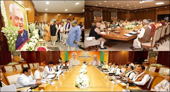 મોદી, શાહ, ૧૫ CM… દિલ્હીમાં BJPનું ચૂંટણી મહામંથન