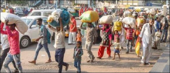 ઉત્તર ભારતના પરપ્રાંતિયો ઉપર ગુજરાતમાં ખતરોઃ તહેવાર ઉજવવા નહીં પરંતુ ભયથી જ ભાગી રહ્યાનું તારણ