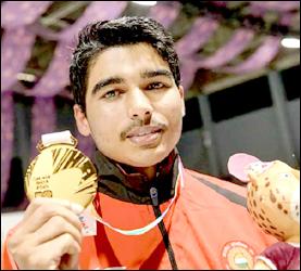 યુથ ઓલમ્પિક- 2018: સૌરભ ચૌધરીએ 10મી એર પિસ્ટલમાં જીત્યો ગોલ્ડ મેડલ
